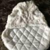white sparkle coat