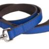 DO&G Leather Collection Lead dark blue