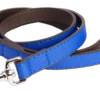 DO&G Leather Collection Navy Lead