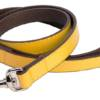 DO&G Leather Collection Yellow Lead
