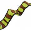 PJ1618 IMMORTALS 3 Squeak Green & Brown Snake