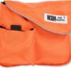orange k9 accessory bag