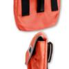 orange side view k9 accessory bag